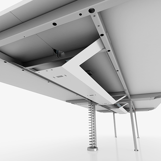 DATUM LEVEL CABLE TRAY